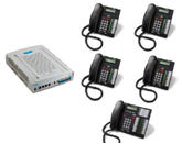 3x8 Norstar Phone System with 4 Speakerphones only $549.00