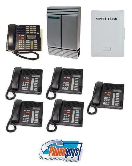 8x24DS with 1-M7310 5-M7208 Speakerphone and Startalk Flash Voice Mail
