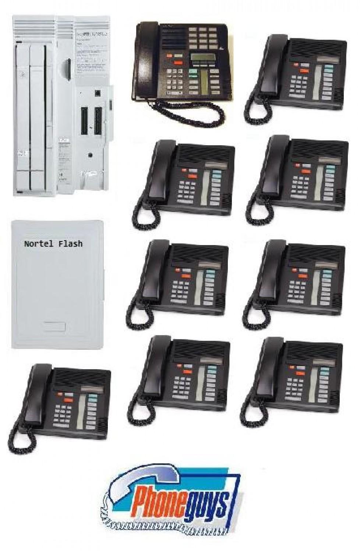 Compact ICS with 1-M7310 8-M7208 Phones Startalk Flash Voice Mail