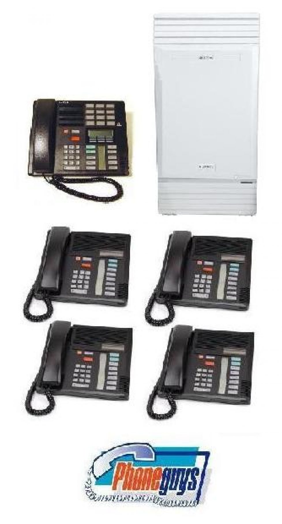 Modular ICS with 1-M7310 4-M7208 Phones