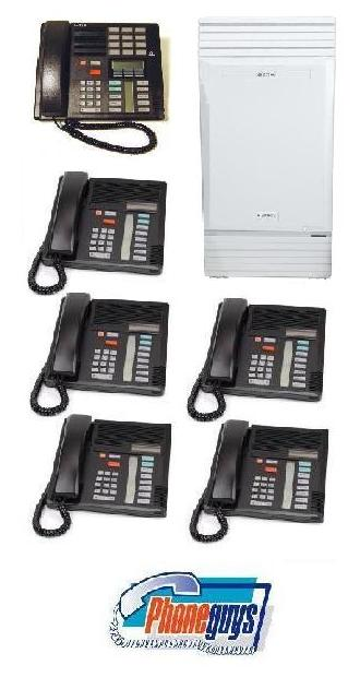 Modular ICS with 1-M7310 5-M7208 Phones