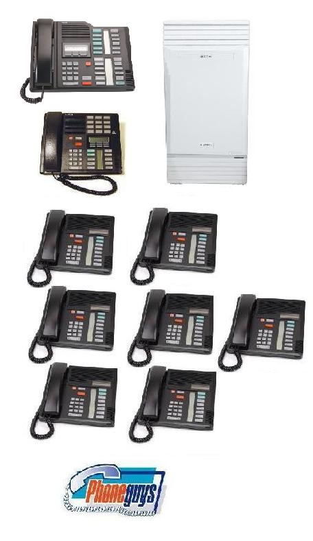 Modular ICS with 1-M7324 1-M7310 7-M7208 Phones