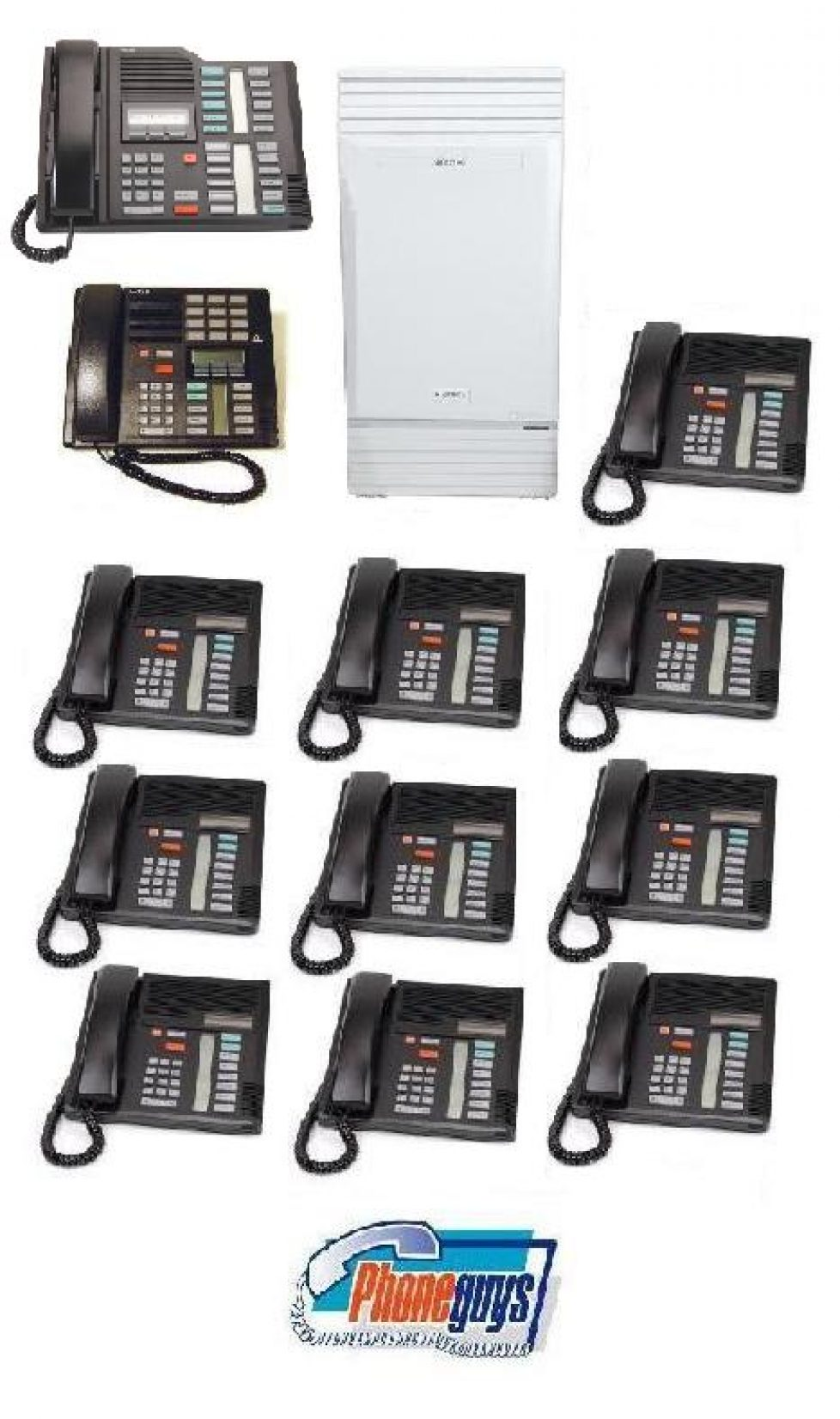 Modular ICS with 1-M7324 1-M7310 10-M7208 Phones