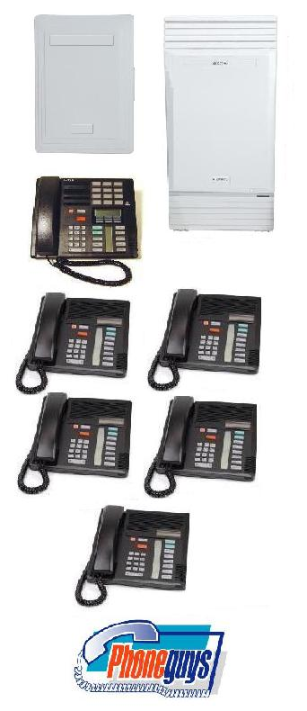 Modular ICS with 1-M7310 5-M7208 Phones & Startalk Flash Voice Mail