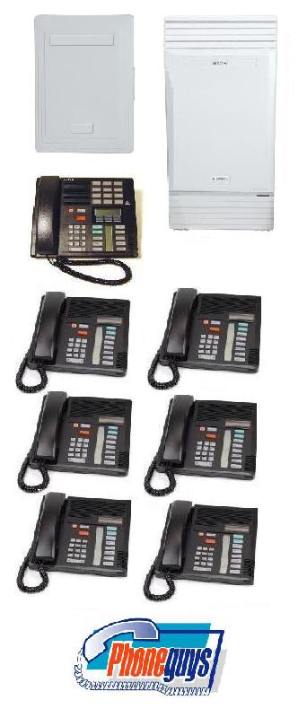 Modular ICS with 1-M7310 6-M7208 Phones & Startalk Flash Voice Mail