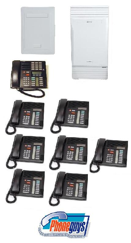Modular ICS with 1-M7310 7-M7208 Phones & Startalk Flash Voice Mail