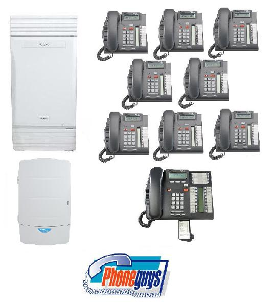 Modular ICS with 1-T7316e 8-T7208 Phones & CallPilot 100 Voice Mail
