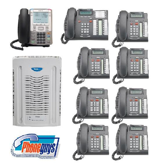 BCM50 VoIP Internet Phone System 1-T7316e 7-T7208 1-1140e Phones & Voice Mail