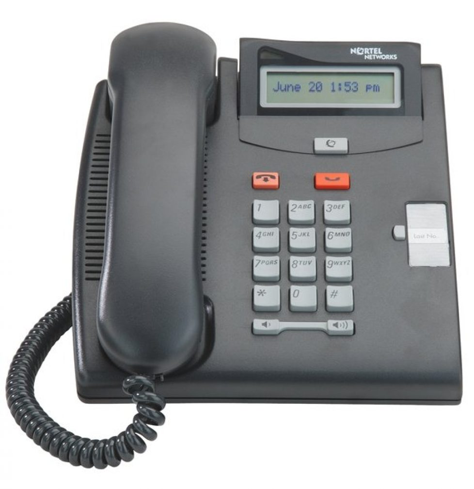 Norstar T7100 One button phone (NT8B25)