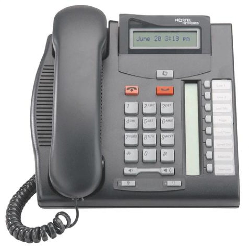 Norstar T7208 Staff display speakerphone (NT8B26)