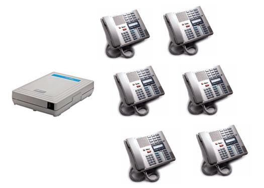 616 with 6 M7310 Executive Speakerphones