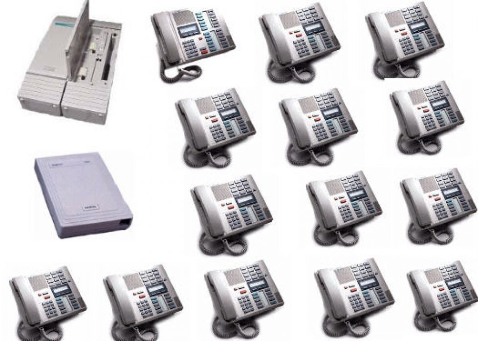 824 with 14 phones and VoiceMail - Expandable Phone Systems