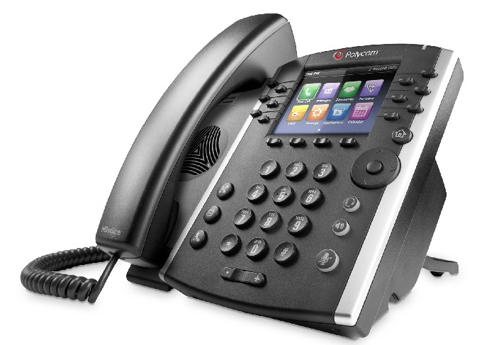 SPX VoIP Phone System w 1 Polycom VVX 400 Executive Phone and 9 Polycom 330 Staff model phones