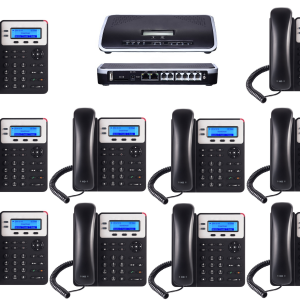 IP PBX with 10 Phones